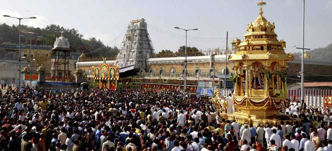A first: Documentary to give inside view of Tirupati temple
