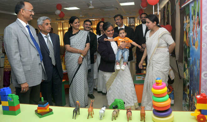 Creche for staff at judicial complex