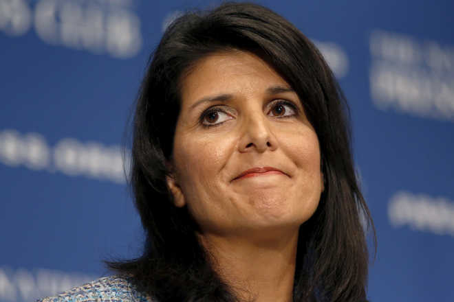 Mother was denied judgeship in India for being woman: Haley