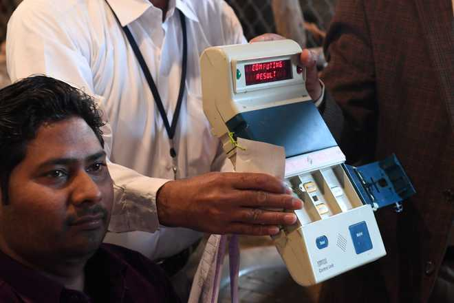 EVMs non-tamperable, integrity of electoral process preserved: EC