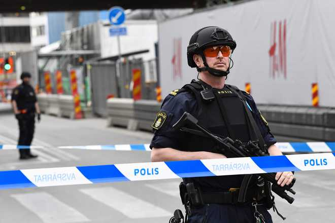 Three dead, 8 injured as truck crashes into Stockholm store; Modi condemns attack