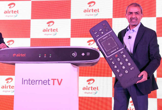 Airtel unveils Android-based set-top box for Internet TV