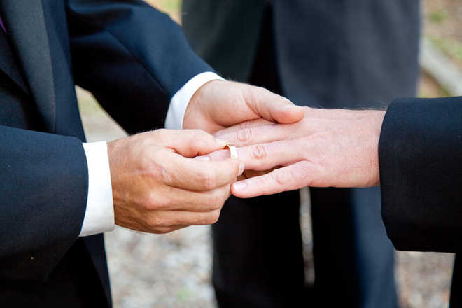 Married LGBT adults are healthier, happier than singles