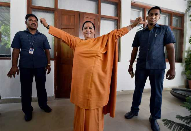 Everything was done in the open: Uma Bharti on Babri demolition