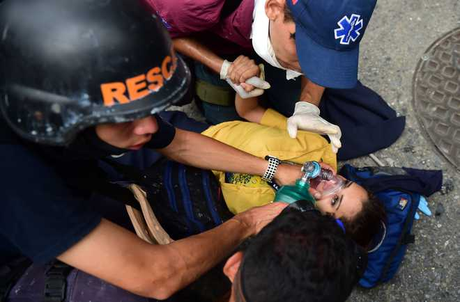 Venezuela confirms 12 deaths during opposition protests