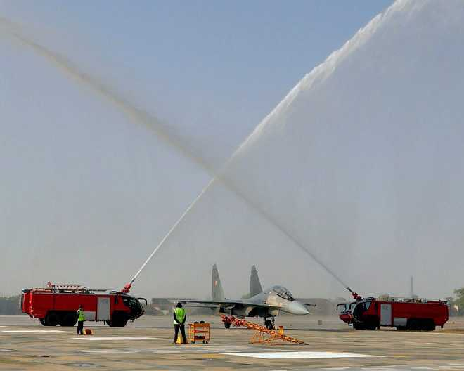 IAF enhances capabilities of Halwara base near Indo-Pak border