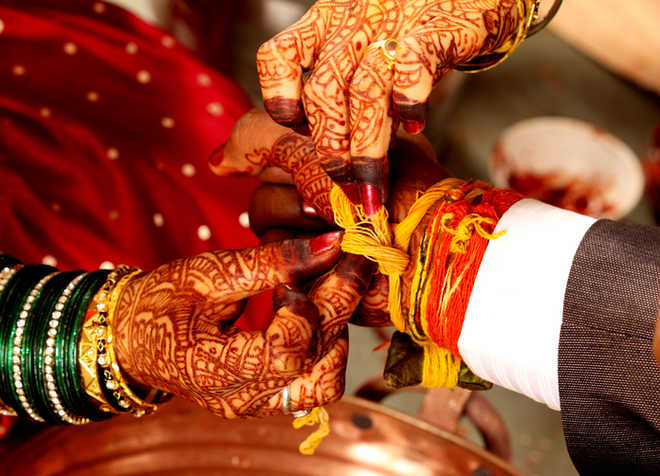 Vegetarian dishes irk groom, bride finds another man : The Tribune ...