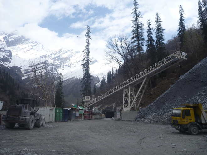 Work on Rohtang tunnel's north portal set to begin