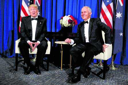'All worked out' with Turnbull: Trump