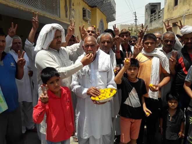 Bajrang's village celebrates the proud moment