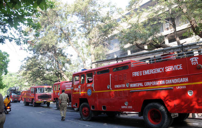 Image result for chandigarh fire brigade