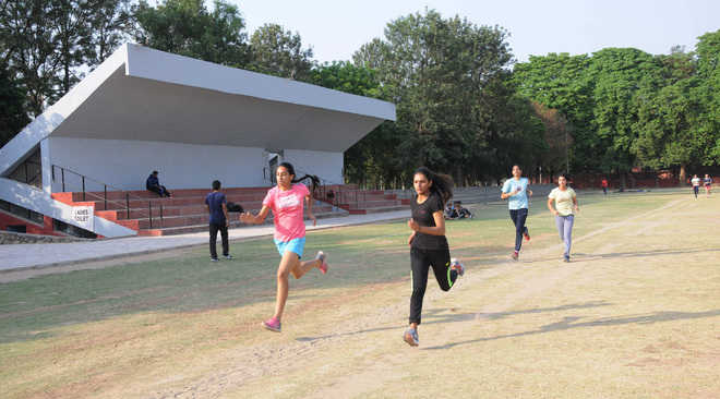 City athletes likely to get a synthetic track