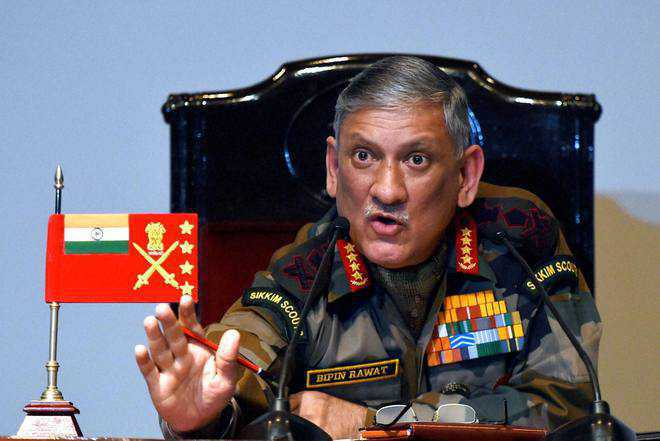 'Dirty war' in Kashmir has to be fought with innovative ways: Army Chief Rawat