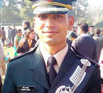 Young Kashmiri army officer shot dead while home on leave