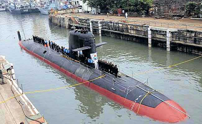First 'Made in India' submarine joins Navy in a month