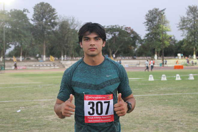 Fed Cup: Neeraj wins gold with meet record