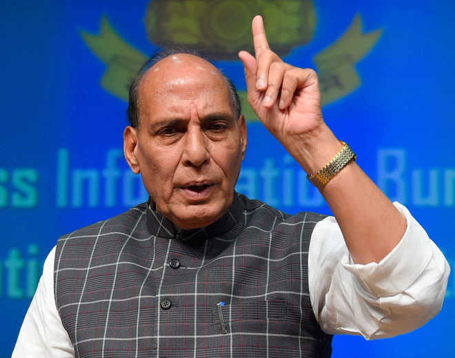 Trump's comment on India and US withdrawal from Paris pact shocking: Rajnath