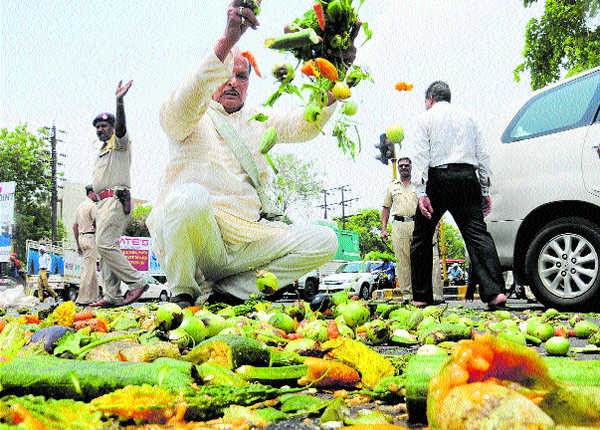 It''s a farmers'' movement in Maharashtra, not a strike