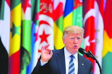 Gulf crisis: Trump says Mideast trip paid off