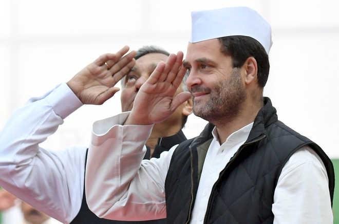 rahul gandhi absent from meira s presidential nomination