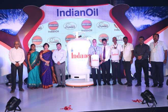 IOC launches 450-kg jumbo LPG cylinder in Coimbatore