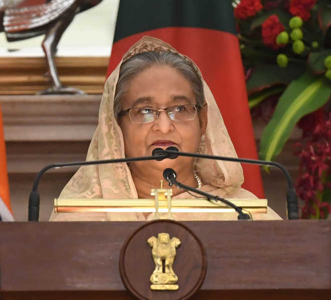 Bangladeshi PM defends decision to buy two Chinese submarines