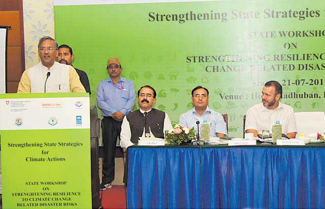 Climate change causing natural disasters: CM