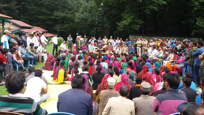Village residents oppose Rohtang ropeway project
