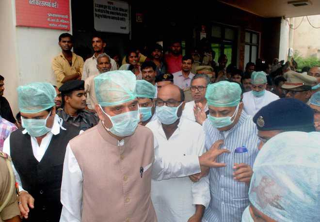 CM Yogi must quit, SC judge should probe deaths: Cong