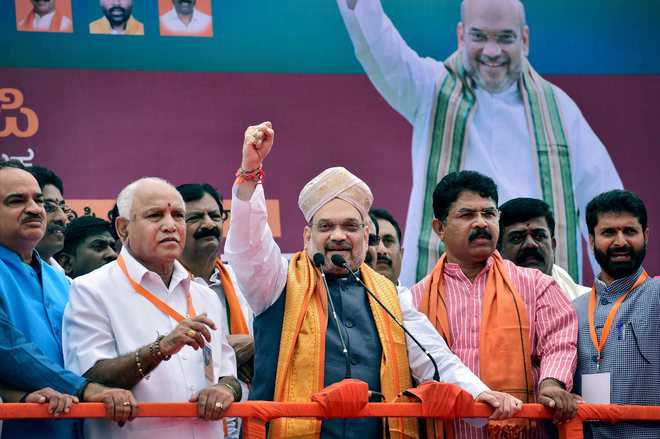 Amit Shah in K'taka to re-energise BJP cadre