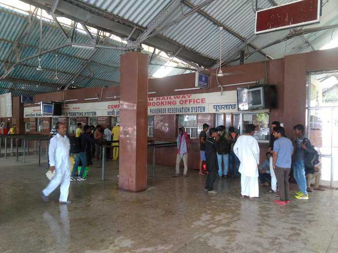 Railways resume train services from city