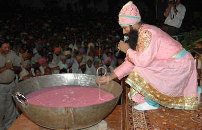 No takers for dera head's controversial pink robe