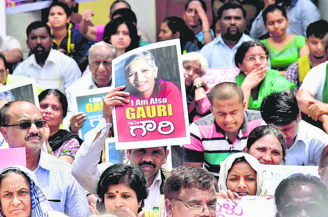 Right to personal security & Gauri's killing
