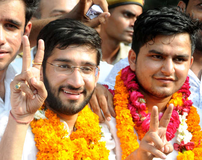Delhi University polls: Congress student wing NSUI wins top two posts