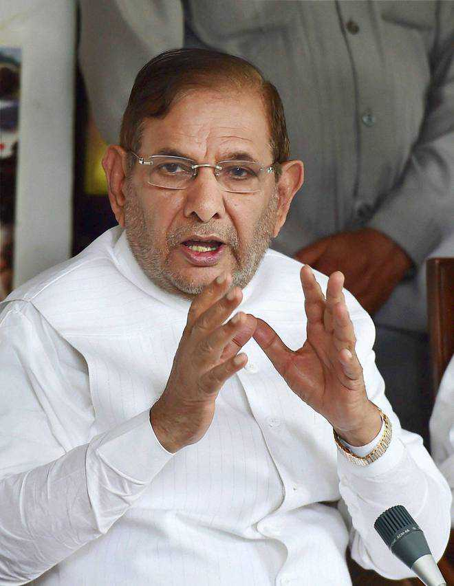 Nitish indulged in anti-party activity, not me: Sharad