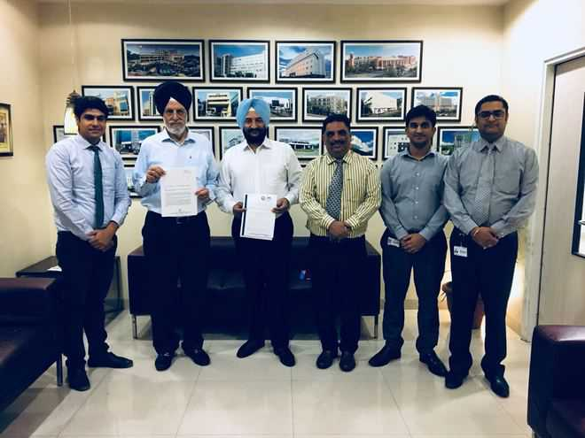 CT University, Fortis Hospital sign MoU