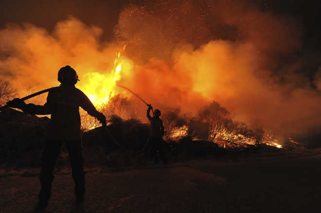 Global warming of 2 degrees may up drought, wildfires