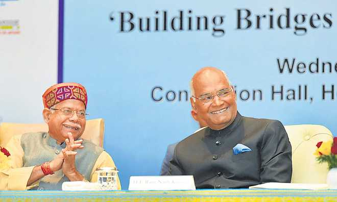 Link priorities with India's growth: Prez to PIOs