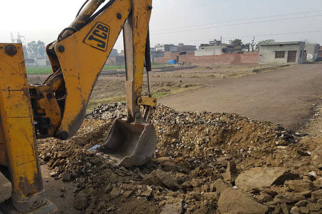 JDA demolishes illegal colonies