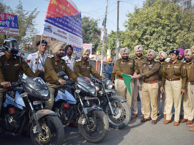 Traffic awareness week begins