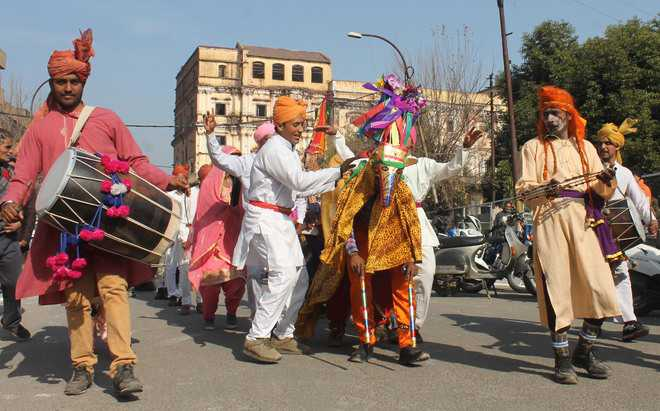 Procession taken out ahead of Lohri
