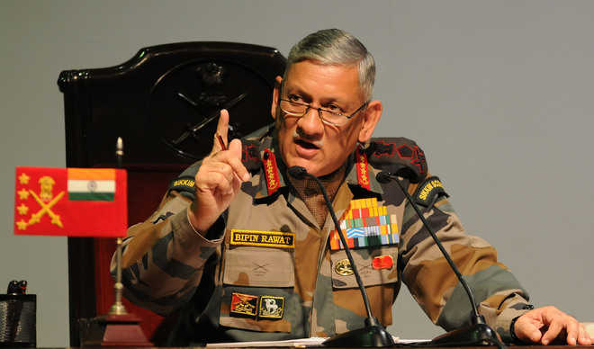 China exerting pressure along LAC, but India prepared: Rawat
