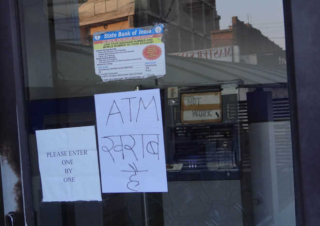 Many ATMs run out of cash, people suffer