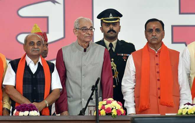 Gujarat Guv questions 'lopsided growth'
