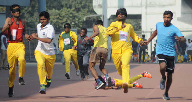 Games for visually impaired: 400 players attend opening ceremony