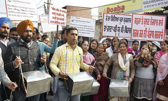 Contractual employees seek meeting with CM