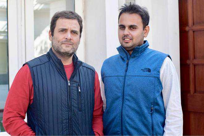 Ex-CM's IT adviser joins Rahul's team