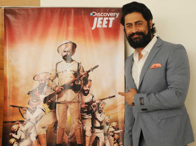 Actor Mohit Raina promotes TV show on Battle of Saragarhi