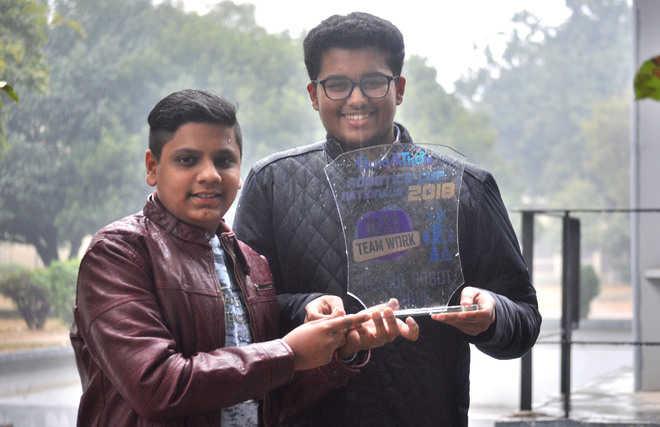 Robotics engineers  in the making