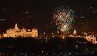 Fireworks display at Mysuru Palace during New Year celebrations on January 1, 2018 PTI photo